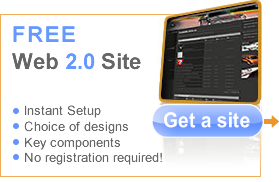 Get an instant one-click website now